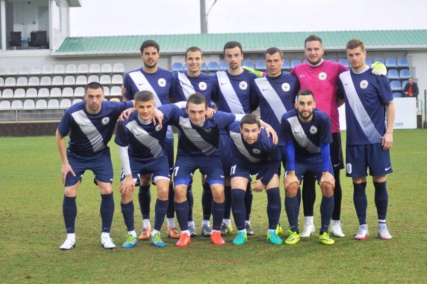 Черниговские футболисты минимально уступили косоварам, фото-13