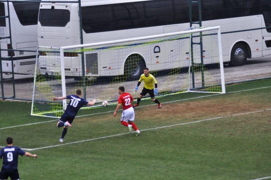 Черниговские футболисты минимально уступили косоварам, фото-1