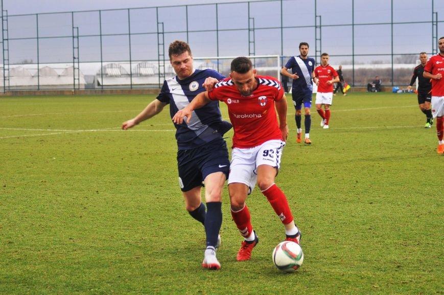 Черниговские футболисты минимально уступили косоварам, фото-3
