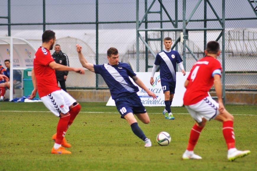 Черниговские футболисты минимально уступили косоварам, фото-4