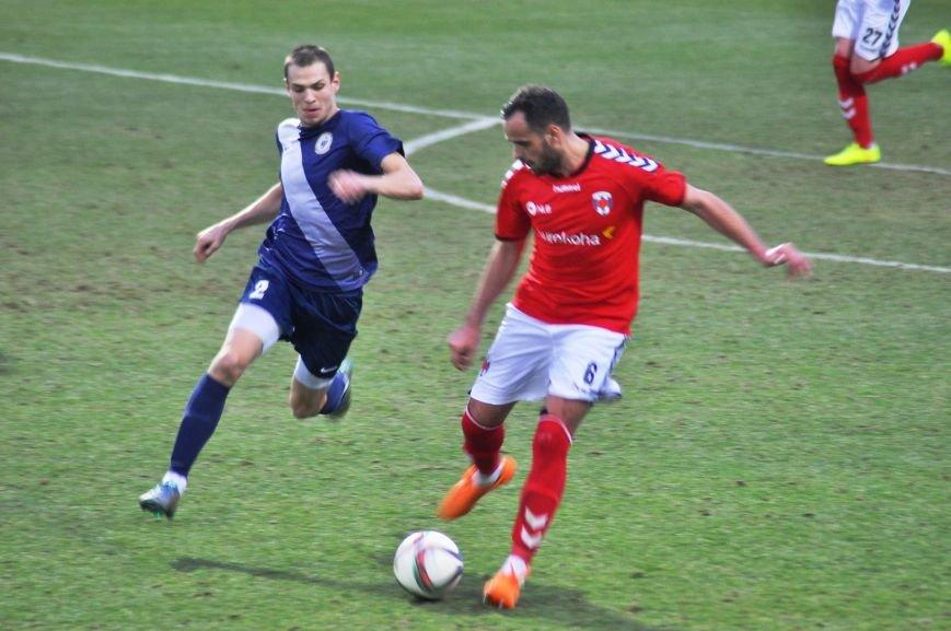 Черниговские футболисты минимально уступили косоварам, фото-15