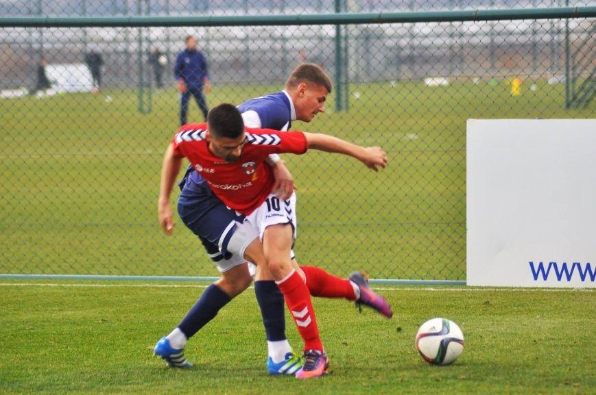 Черниговские футболисты минимально уступили косоварам, фото-5
