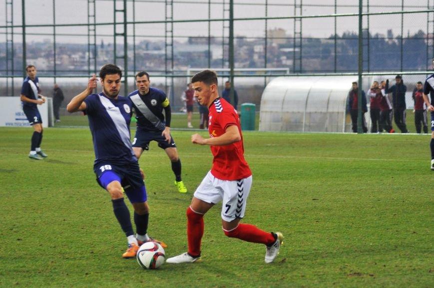 Черниговские футболисты минимально уступили косоварам, фото-11