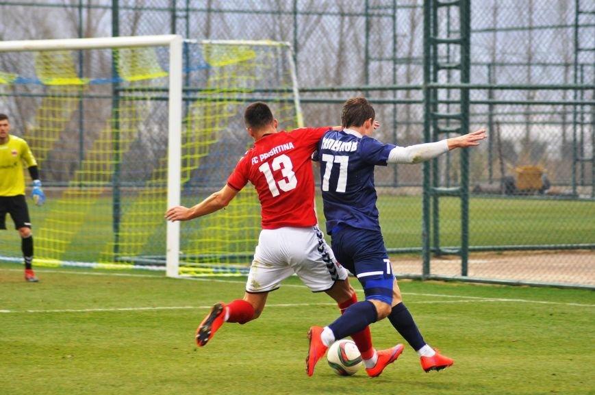 Черниговские футболисты минимально уступили косоварам, фото-9