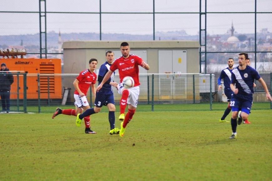 Черниговские футболисты минимально уступили косоварам, фото-18