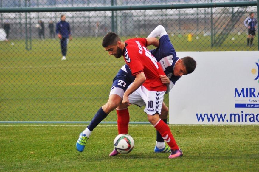 Черниговские футболисты минимально уступили косоварам, фото-16
