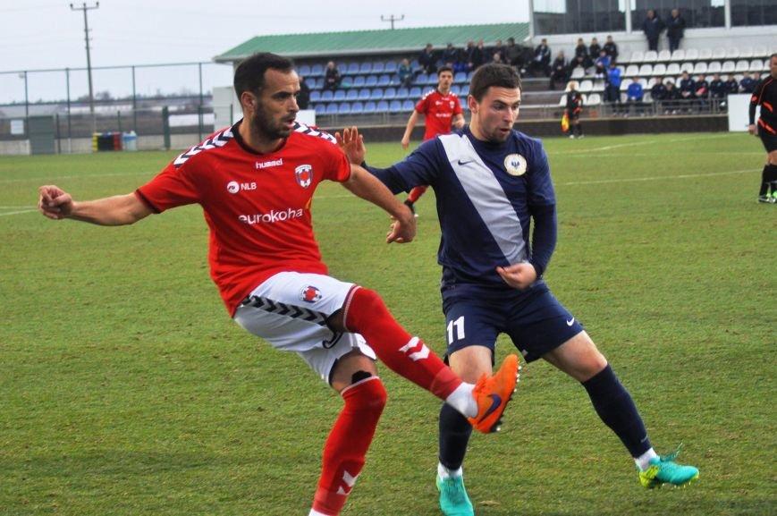 Черниговские футболисты минимально уступили косоварам, фото-20