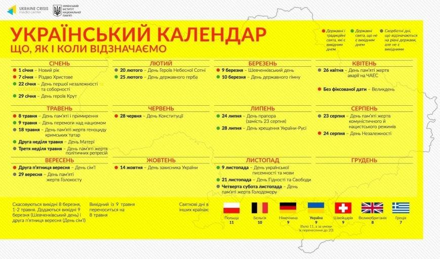 Проект календаря вихідних в України: без 8 березня та 9 травня, фото-1