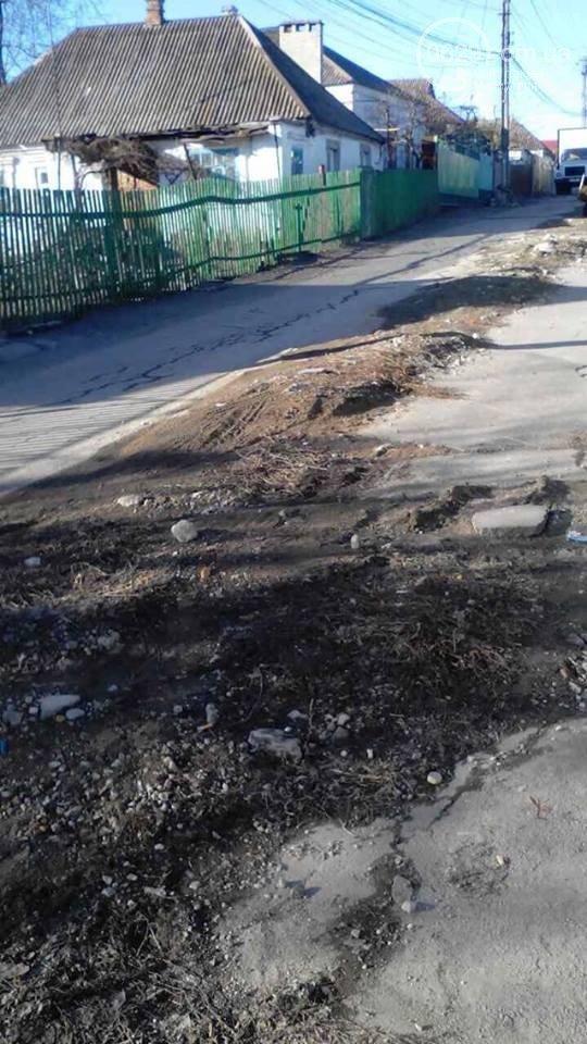 Улицу Депутатскую в Мариуполе заасфальтируют, как только позволит погода (ФОТО), фото-4