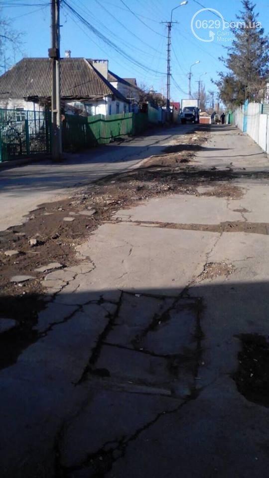 Улицу Депутатскую в Мариуполе заасфальтируют, как только позволит погода (ФОТО), фото-5