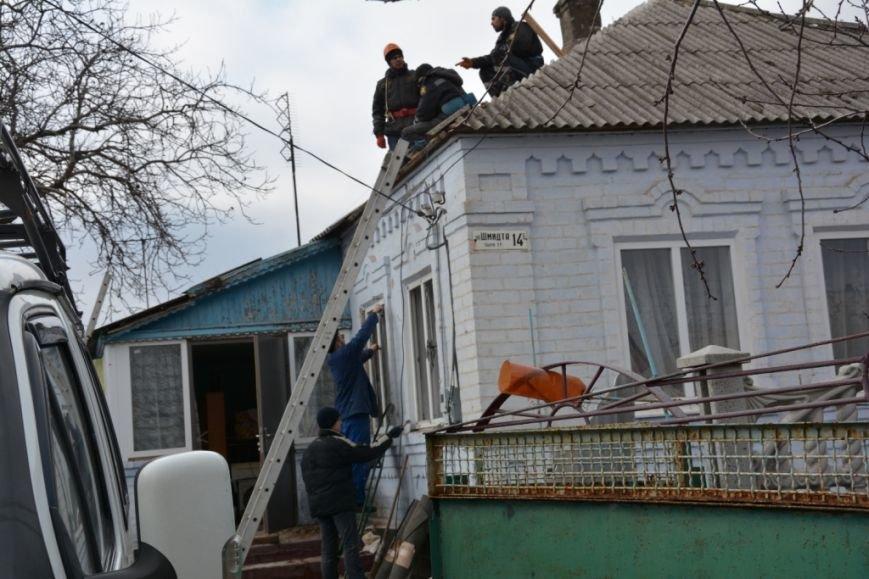 В Сартане  восстанавливают жилье после обстрелов (ФОТО), фото-3