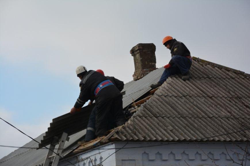 В Сартане  восстанавливают жилье после обстрелов (ФОТО), фото-4