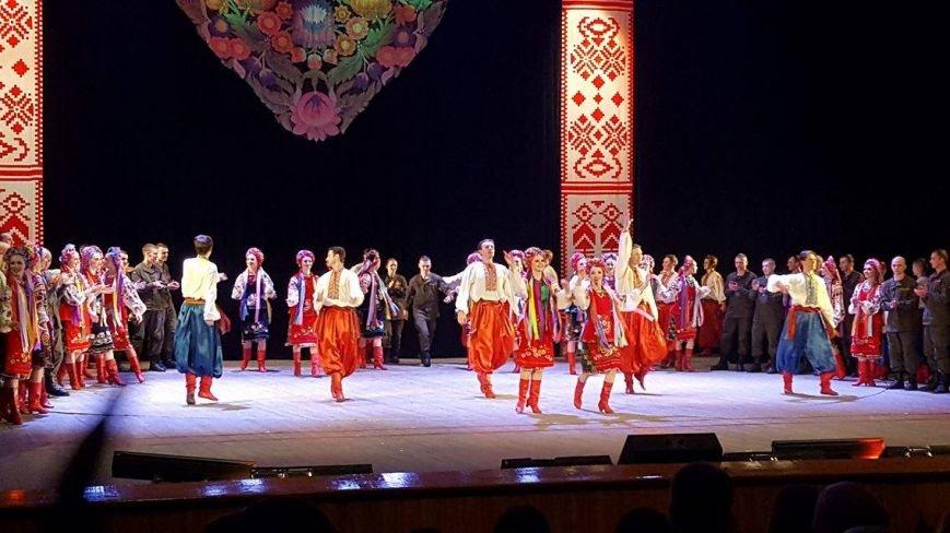 Мариупольцы увидели танцы в исполнении легендарного ансамбля им. Вирского (ФОТО, ВИДЕО), фото-2