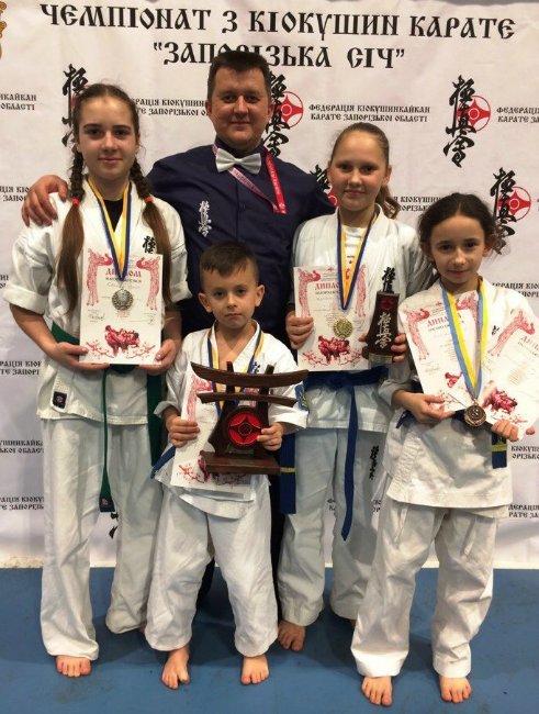 Каратисти з Херсонщини стали чемпіонами Запорізької області (фото), фото-1