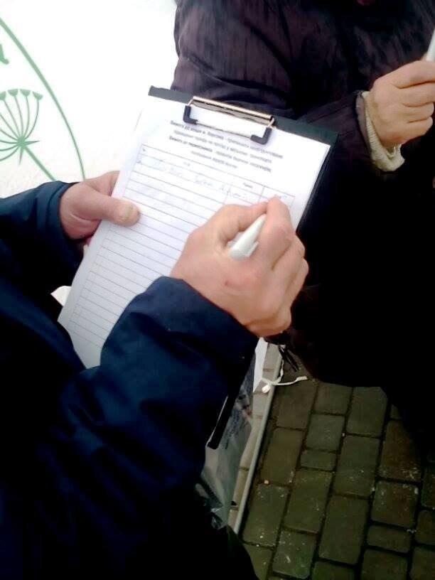 Херсонские депутаты собирают подписи против повышения тарифов на проезд в маршрутках (фото), фото-1
