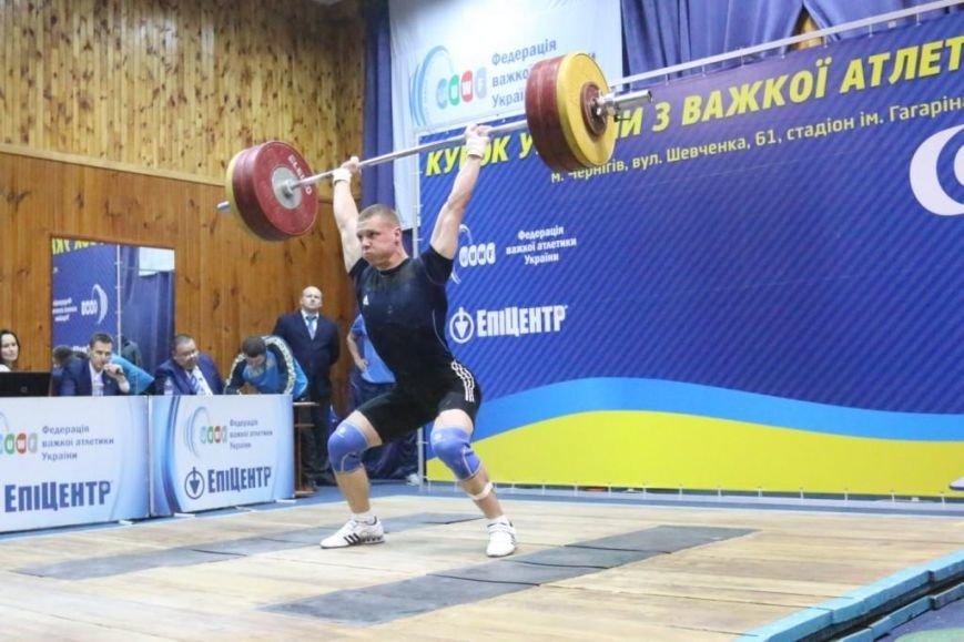Два серебра Кубка Украины по тяжелой атлетике остались в Чернигове, фото-1