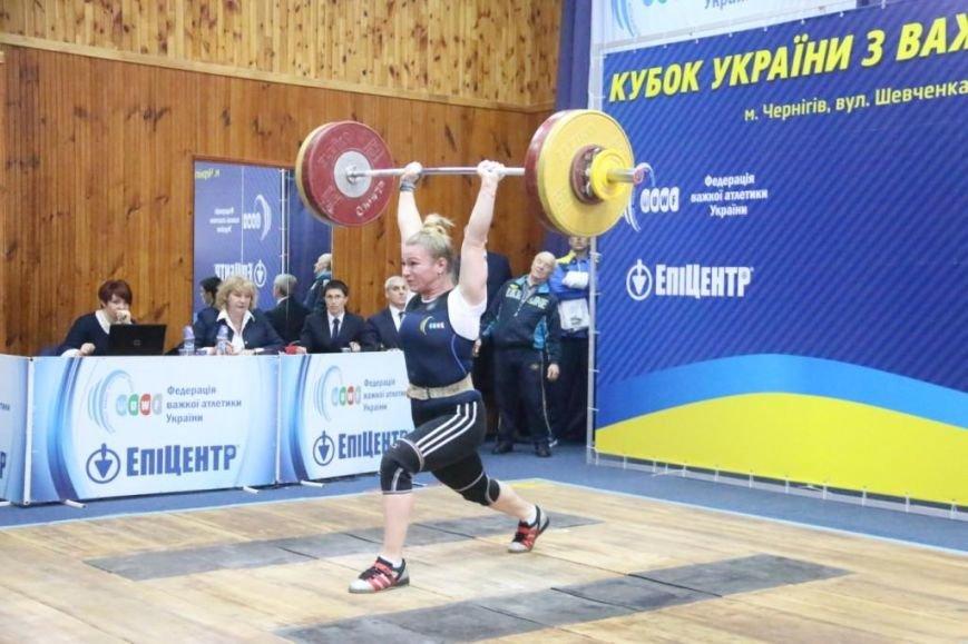 Два серебра Кубка Украины по тяжелой атлетике остались в Чернигове, фото-2