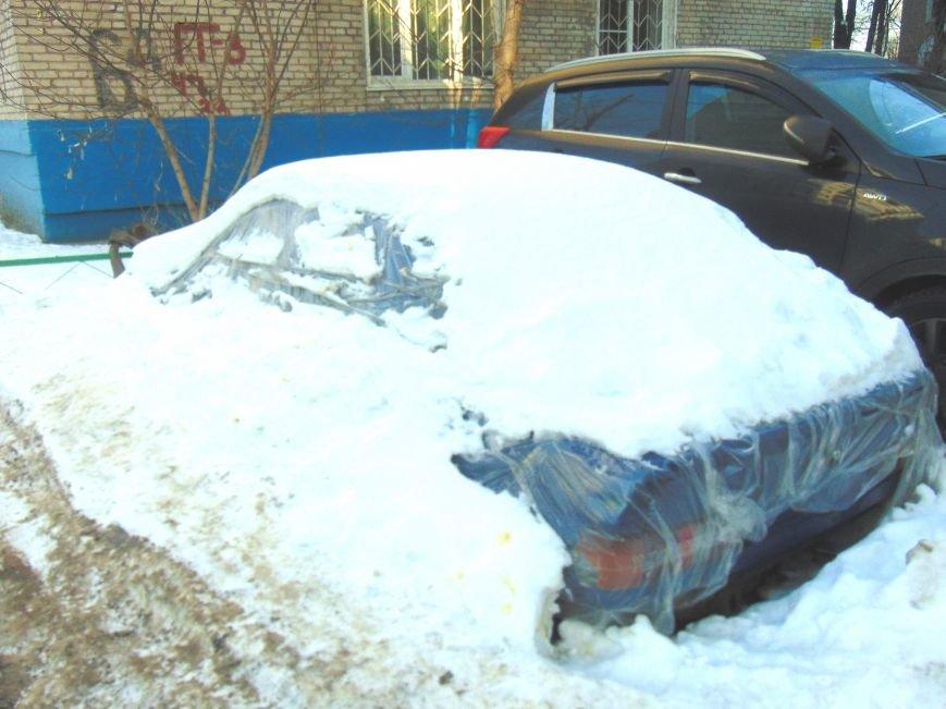 Авто в снегу-1