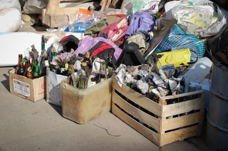 мусор после зачистки 7 мая