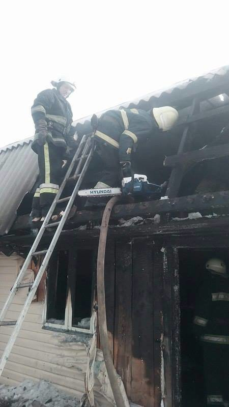 На Міжгірщині пролунав вибух, унаслідок якого виникла пожежа: фото, фото-1