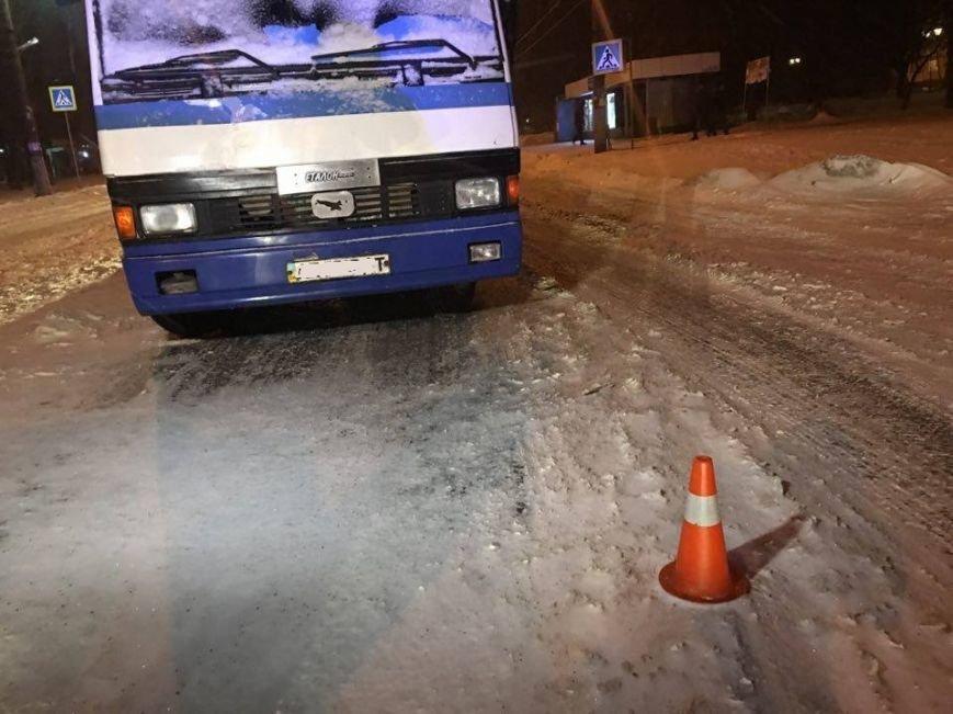 В Кривом Роге автобус сбил женщину прямо на пешеходном переходе (ФОТО), фото-2