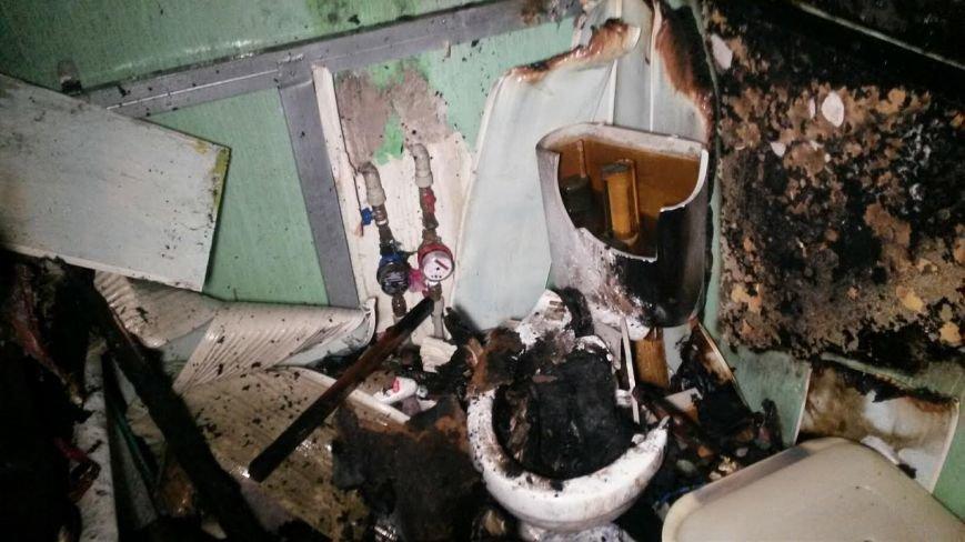В Мариуполе загорелась квартира из-за искры сварочного аппарата (ФОТО), фото-1