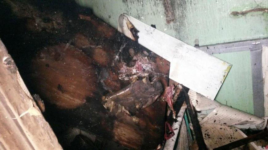 В Мариуполе загорелась квартира из-за искры сварочного аппарата (ФОТО), фото-2