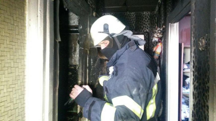 В Мариуполе загорелась квартира из-за искры сварочного аппарата (ФОТО), фото-3
