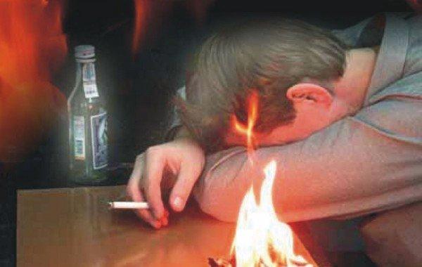 Нетрезвый курильщик погиб в огне, фото-1