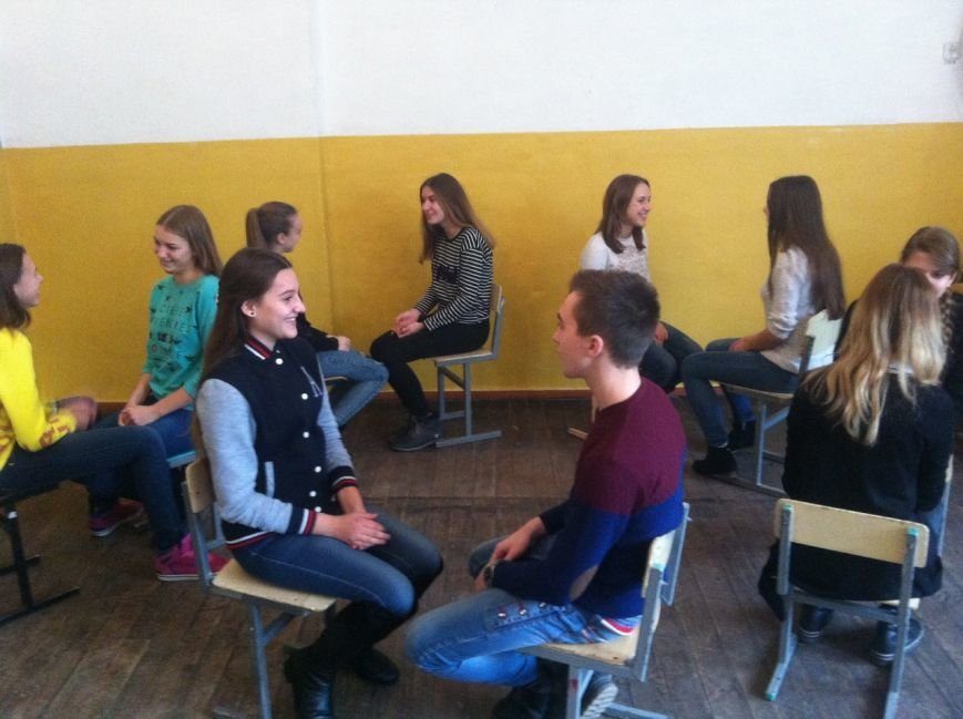 Мелитопольские школьники устроили парад улыбок, фото-4
