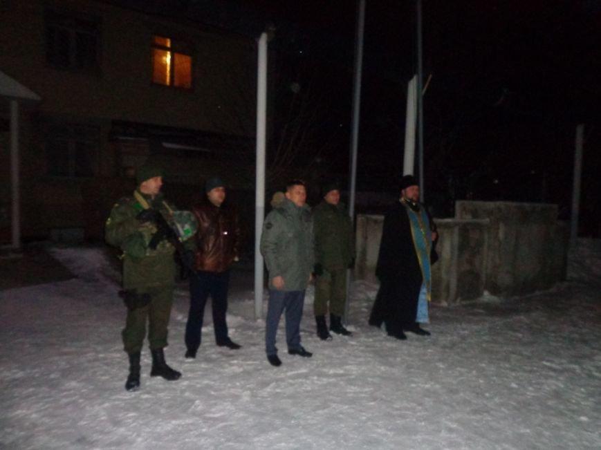 Бойцов Нацгвардии перед отправкой в АТО окропили святой водой, фото-2
