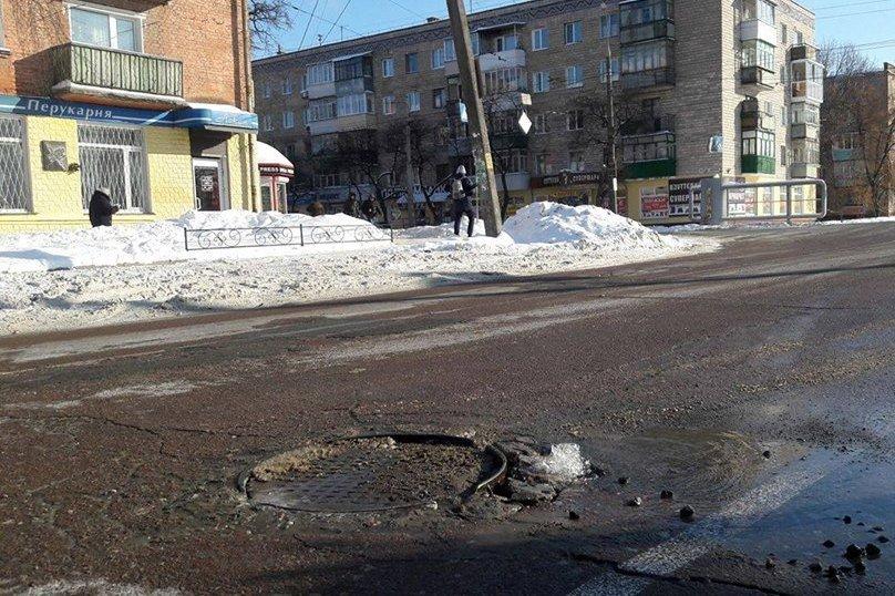 Новая авария на водопроводе в Чернигове. Без воды остался еще один дом, фото-2