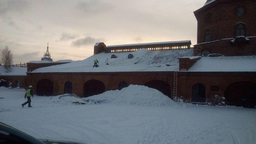 Памятник промышленной архитектуры спасли от снежного плена, фото-2