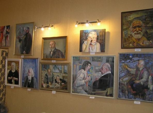 В Бахмуте открылась выставка «Философия живописи», фото-1