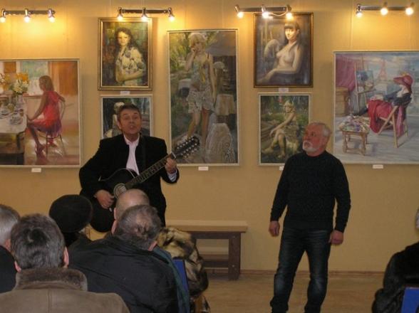 В Бахмуте открылась выставка «Философия живописи», фото-4
