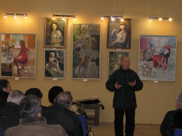 В Бахмуте открылась выставка «Философия живописи», фото-2