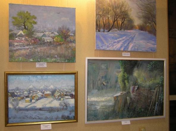 В Бахмуте открылась выставка «Философия живописи», фото-3