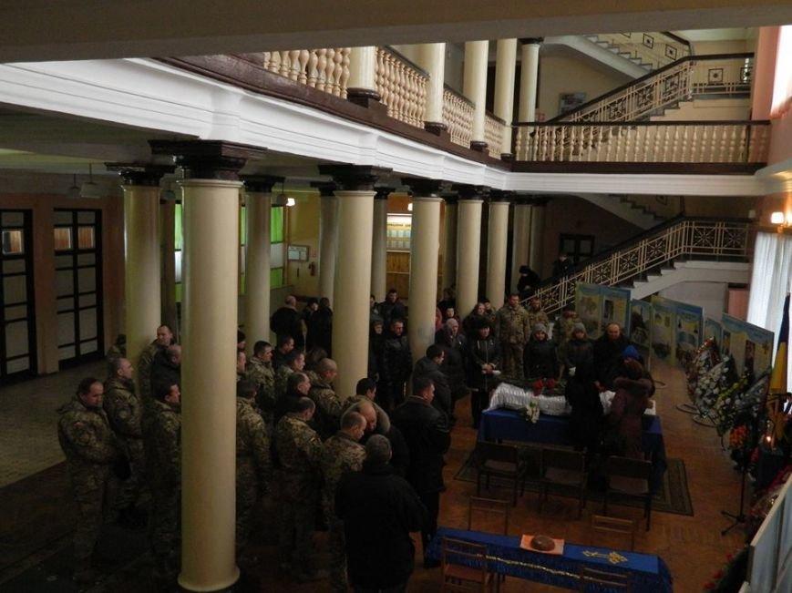 У Новоград-Волинському гарнізонному будинку офіцерів відбулась церемонія прощання з бійцем 30-ї бригади Олегом Бодахом, фото-1