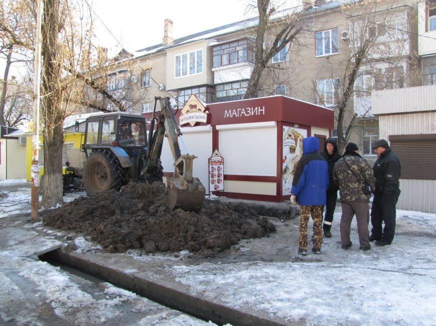 Ликвидация аварии водопровода в авиагородке обошлась более, чем в 3 тыс. грн., фото-1