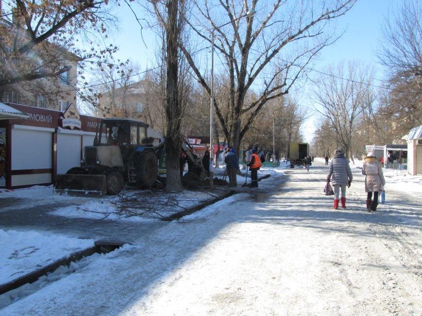 Ликвидация аварии водопровода в авиагородке обошлась более, чем в 3 тыс. грн., фото-6