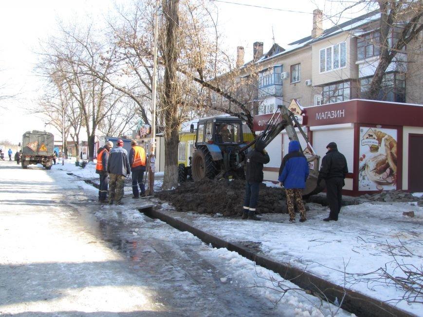 Ликвидация аварии водопровода в авиагородке обошлась более, чем в 3 тыс. грн., фото-3