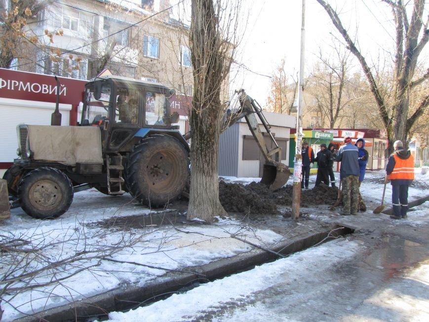 Ликвидация аварии водопровода в авиагородке обошлась более, чем в 3 тыс. грн., фото-4
