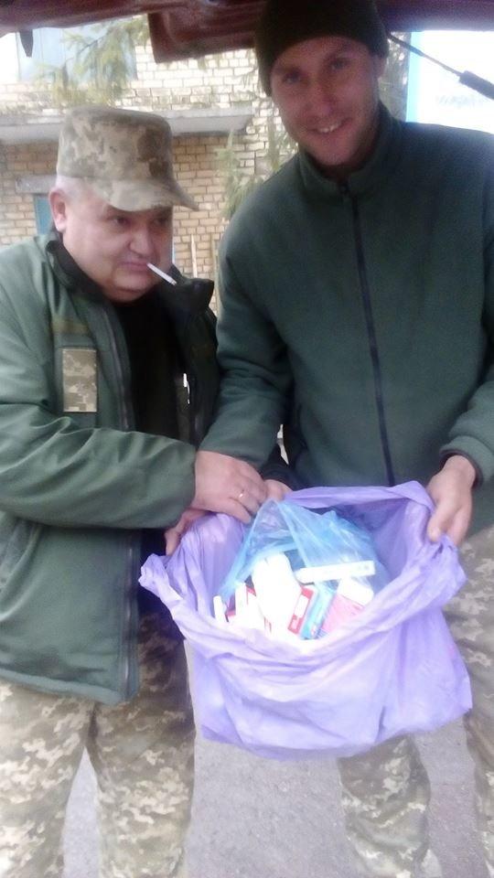 Херсонские волонтеры помогли 7 подразделениям в зоне АТО (фото), фото-4