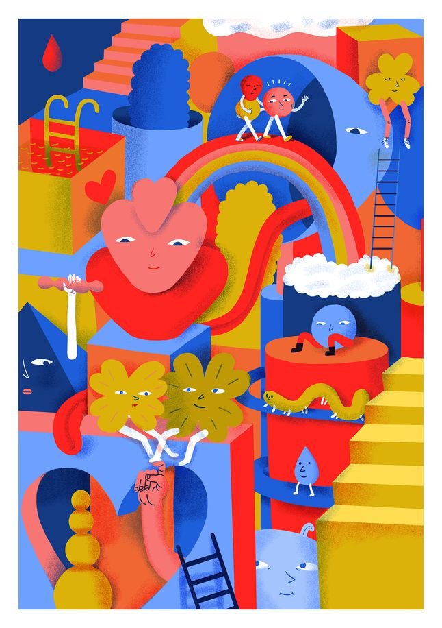 Бородачи, цветы и котики: Почта России представила дизайнерские открытки к ближайшим праздникам, фото-1
