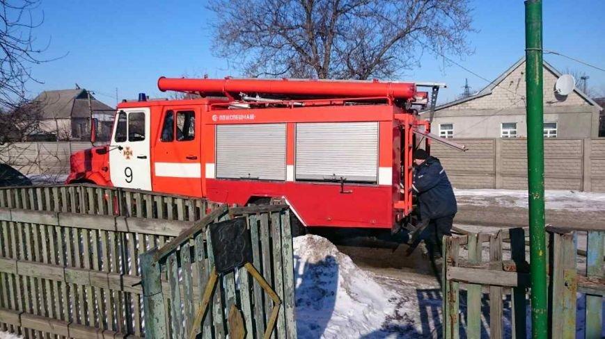 В Каменском тушили пожар на улице Алчевской, фото-1