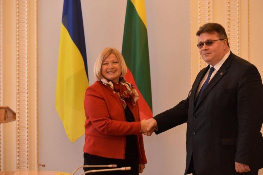Ирина Геращенко и глава литовского МИДа едут на Донбасс, чтобы оценить гуманитарную ситуацию в зоне АТО, фото-2