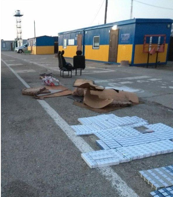 На КПП «Чонгар» таможенники обнаружили свыше 26 тыс. сигарет (фото), фото-1