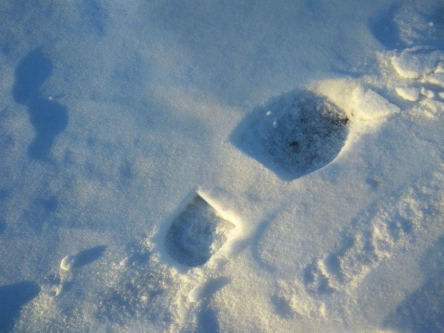 Следы на снегу, фото-17