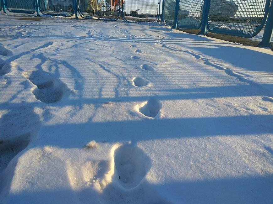 Следы на снегу, фото-21