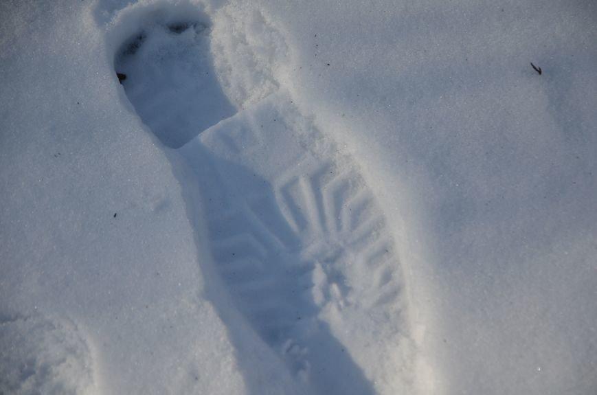 Следы на снегу, фото-11